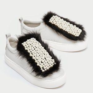 GORGEOUS NWT ZARA Tennis Shoes